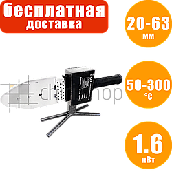 Паяльник для труб 50-300°C, 6 насадок, Erman PW 101 аппарат для сварки полипропиленовых труб