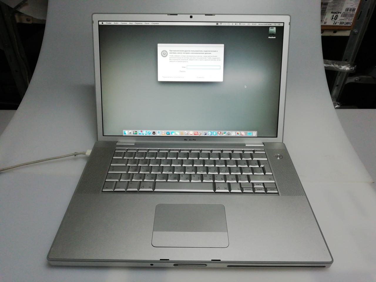 """MacBook Pro 15"""" 2007 Игровая видео"""