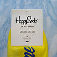 Носки Мужские желтые в стиле Cocaine размер 41-45, фото 3