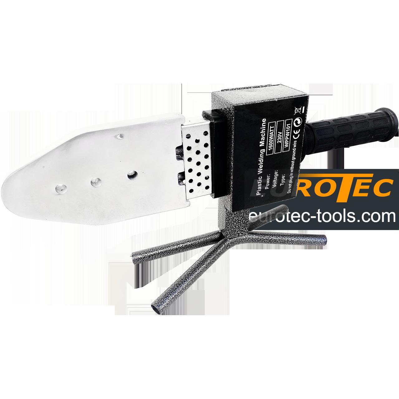 Паяльник для ПВХ труб 50-300°C, 20-63 мм, Erman PW 101 аппарат для пайки пластиковых полипропиленовых труб