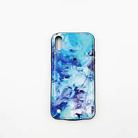 Чехол с аккумулятором для iPhone Х Make 6000 мАч Синий