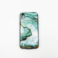 Чехол с аккумулятором для iPhone Х Make 6000 мАч Зеленый