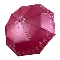 Женский зонт-полуавтомат Lantana с напылением, малиновый цвет, 693-9