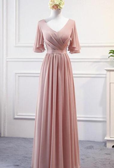Довге шифонова сукня