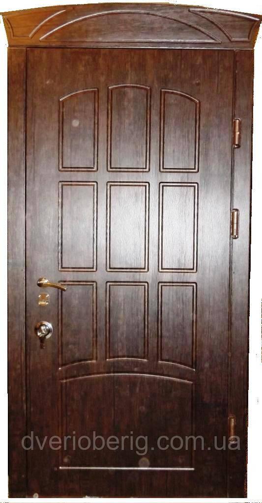Входная дверь модель Т-3 121 тиковое дерево (тройной притвор) ЗАМОК МОТТУРА 54797 ДВУХСИСТЕМНЫЙ