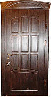 Входная дверь модель Т-3 121 тиковое дерево (тройной притвор) ЗАМОК МОТТУРА 54797 ДВУХСИСТЕМНЫЙ, фото 1