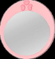 Дзеркало навісне класичне, горіх (45*45*2,1см)