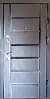 Входная дверь модель П5-470 Венге южный / Белая текстура, фото 1