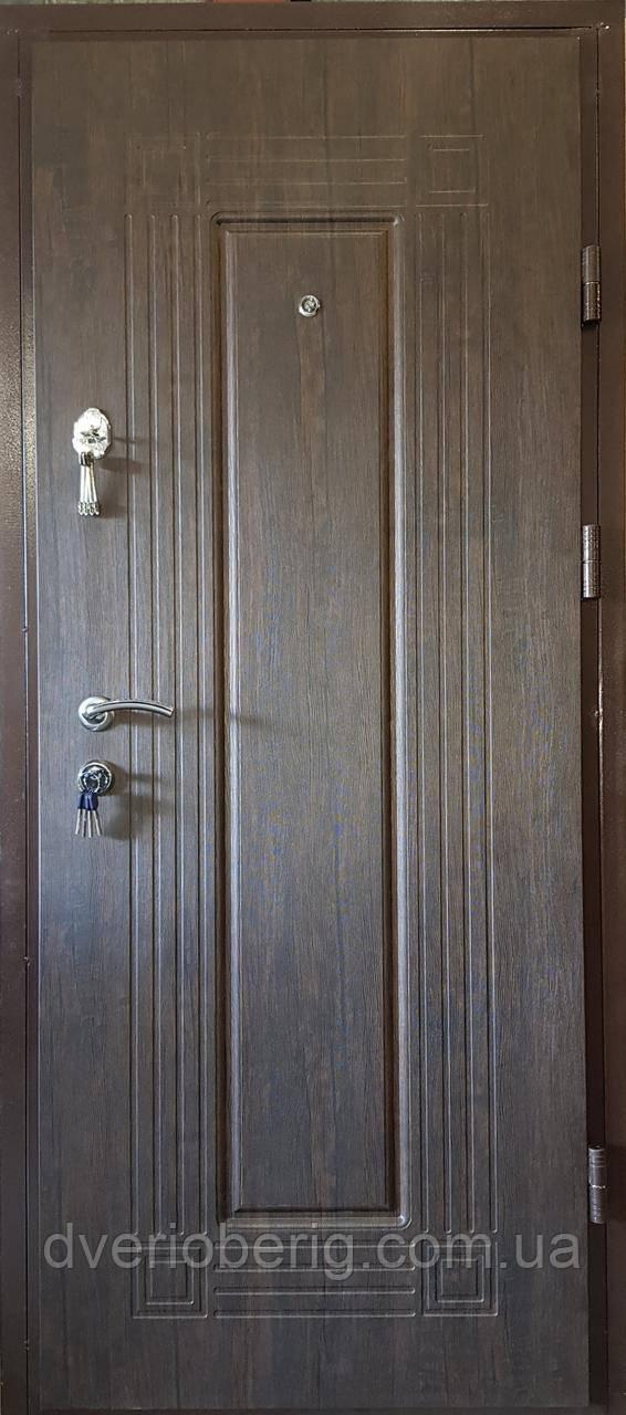 Входная дверь модель М3 347 тиковое дерево