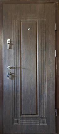 Входная дверь модель М3 347 тиковое дерево, фото 2