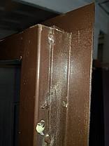 Входная дверь модель М3 347 тиковое дерево, фото 3