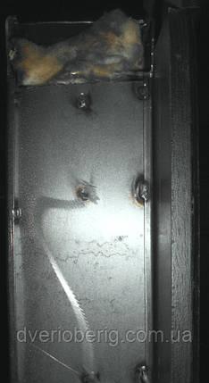 Входная дверь модель П5-515 венге темный, фото 2