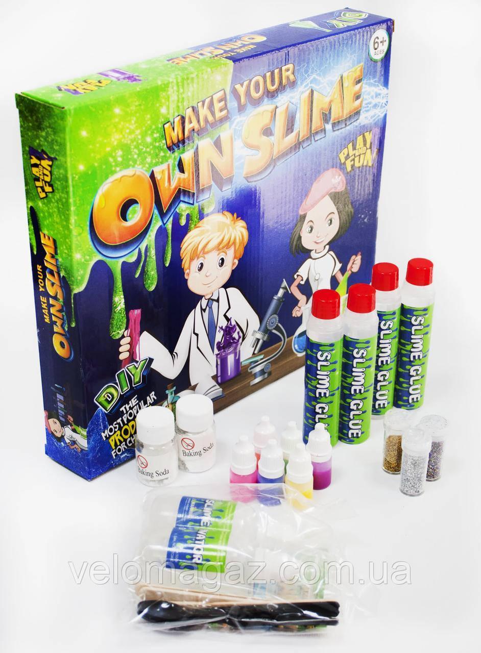 Детский набор для изготовления слаймов 006