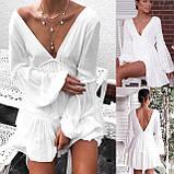 Платье белое, фото 3