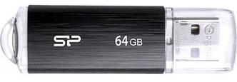 Флеш-память Silicon Power Ultima U02 64GB USB Черный