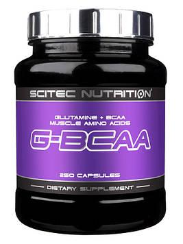 Глютамин G-BCAA (250 caps) Scitec Nutrition
