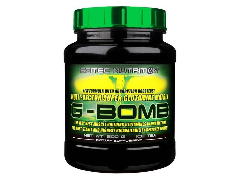 Глютамин G-Bomb 2.0 (500 g) Scitec Nutrition