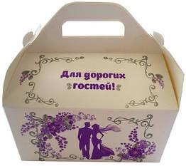 """Коробки для свадебного каравая """"Эва"""""""
