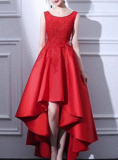 Женское красное платье. Любой цвет, любой размер. Онлайн ателье.