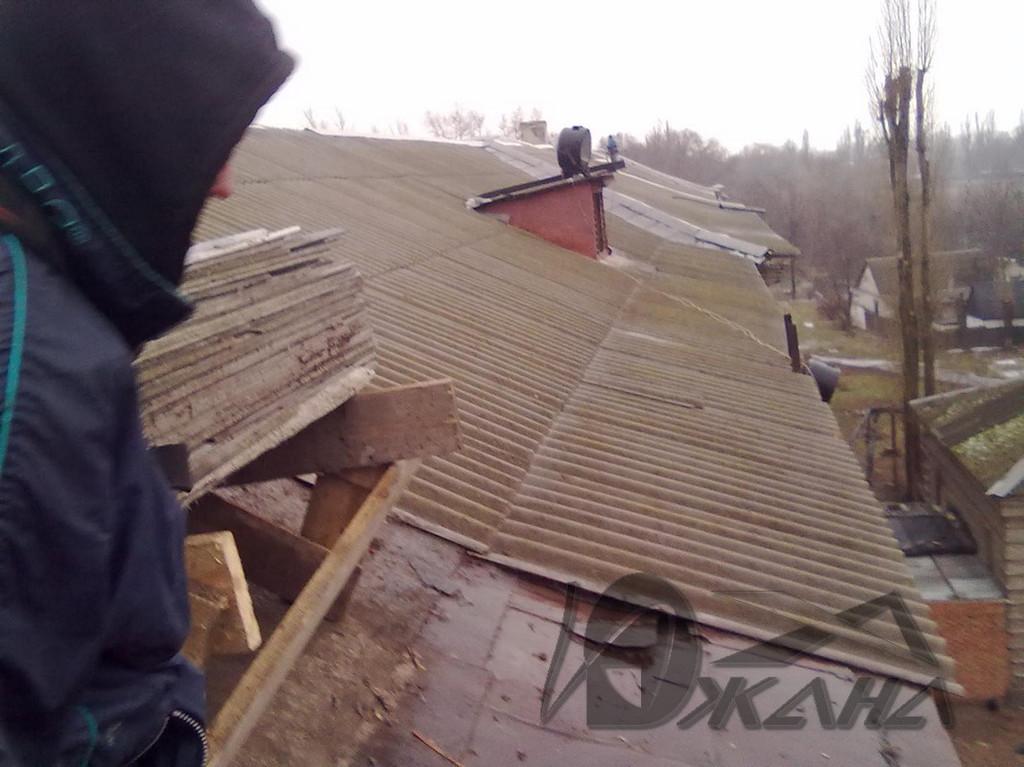 СШ №42 по ул. Ростовская, 88 в г. Днепропетровске. Реконструкция кровли. 2
