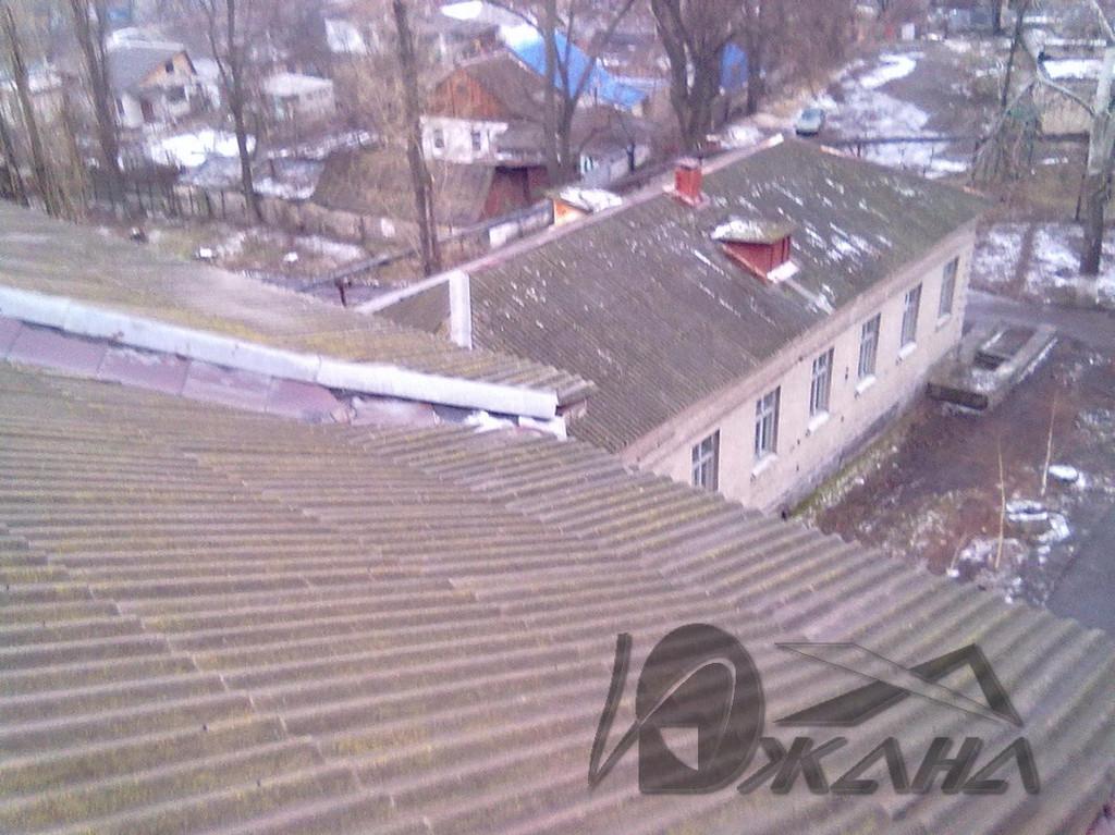 СШ №42 по ул. Ростовская, 88 в г. Днепропетровске. Реконструкция кровли. 3