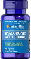 Гиалуроновая кислота Puritans Pride Hyaluronic Acid 100 мг 60 кап.