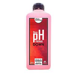 1 л Корректор pH Down/minus  Bloom аналог GHE