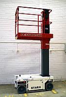 Аренда самоходного мачтового подъемника, STAR 6 (рабочая высота 6 метров)