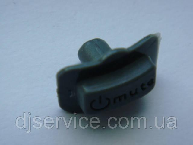 Резиновая кнопка (c толстой ножкой)  для радиомикрофонов sm58, beta58a,  pgx2, pgx24.