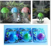 Медуза, свет, плавает, 3 цвета, 988A