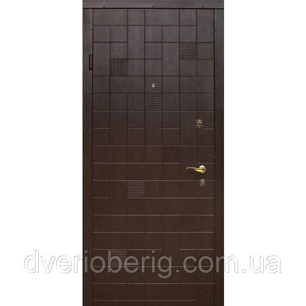 Входная дверь модель П2-КУБИКИ СКОЛ ДУБА ЧЕРНЫЙ