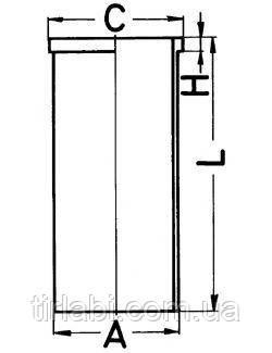 Гильза DAF 75 (RS…)