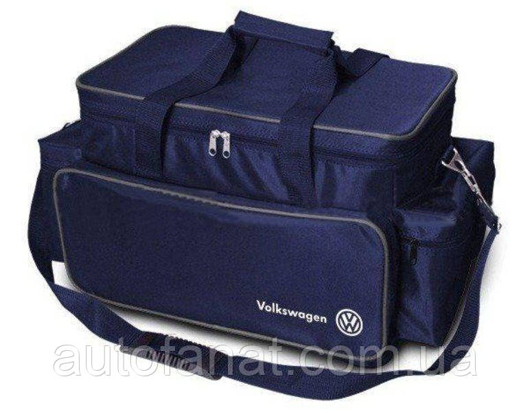 Оригинальная большая сумка-термос Volkswagen Thermo Bag, L-Size Blue (MFS1298SV0)