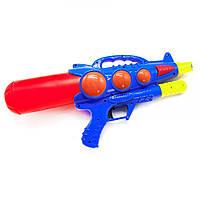 Водяной автомат  Water Gun Shootingс накачкой (синий)