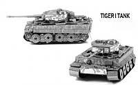 Металлический конструктор Tiger I Tank