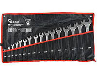 Набор ключей комбинированных 16ед., Geko, фото 1