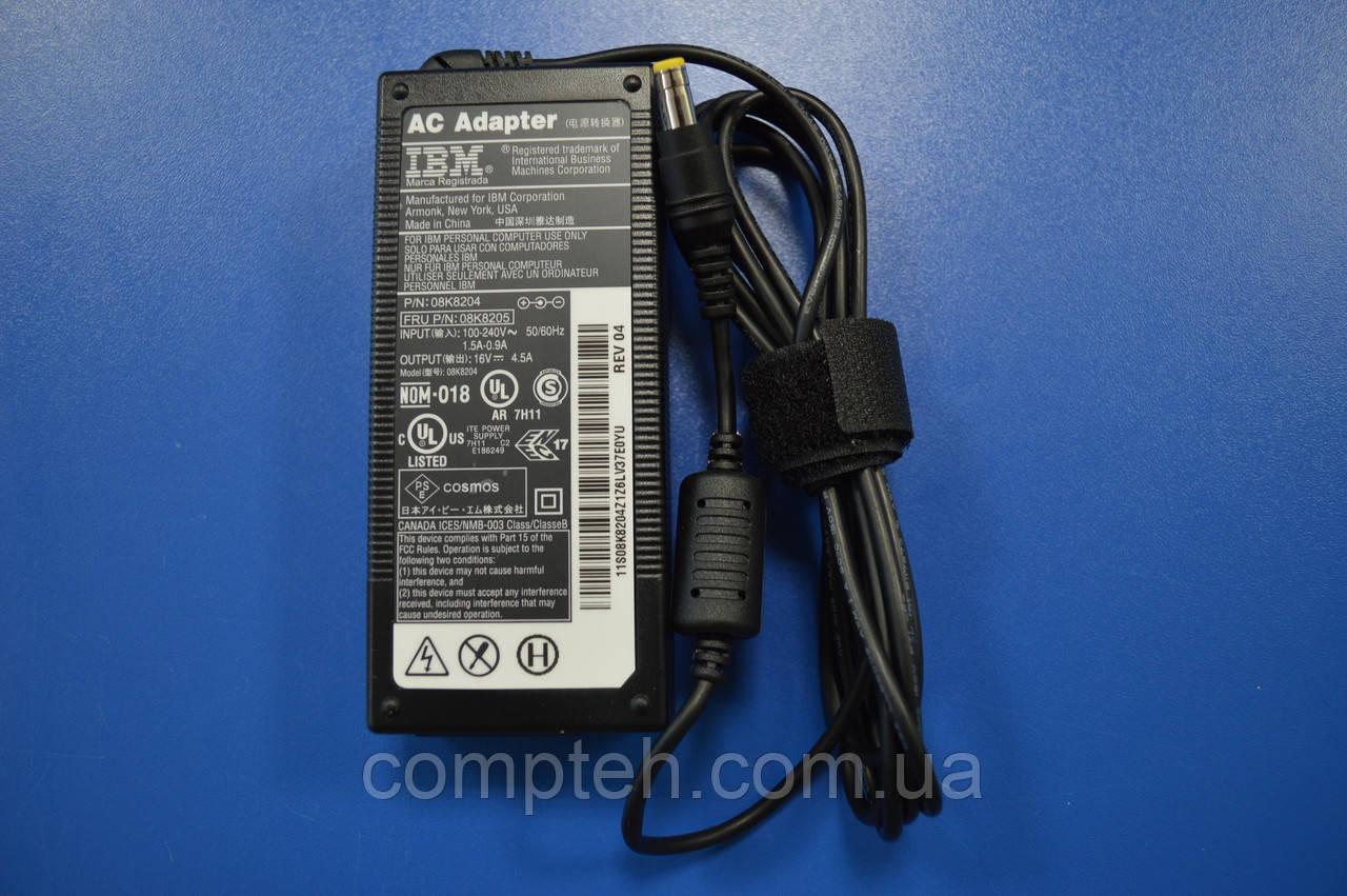 Блок Питания для ноутбуков IBM/Panasonic 16V 4,5A 72W 5.5*2.5