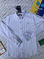 Рубашка  для мальчика от 6 до 9 лет