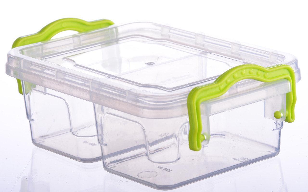 Контейнер пищевой Ал-Пластик TWIX №1 (0,5л)