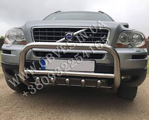 Захист переднього бампера (кенгурятник) Volvo XC90