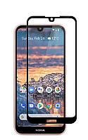 Защитное стекло LUX для Nokia 4.2 DS (TA-1157) Full Сover черный 0,3 мм в упаковке, фото 1