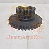 Шестерня промежуточного вала КПП ЮМЗ-80   Z=37/20   45-1701056, фото 2