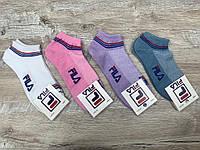 Набор  спортивных носков 12 пар, упаковка (носки в стиле FILA),36-41 размер