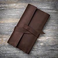 Тревел портмоне для путешествий из натуральной кожи ручной работы