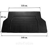 Коврик в багажник резиновый Stingray универсальный S (140см Х 80см)