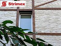 """Навесной Вентилируемый Фасад """"StrimROCK"""" на алюминиевой подсистеме с декоративным камнем Фьорд Ленд, фото 1"""