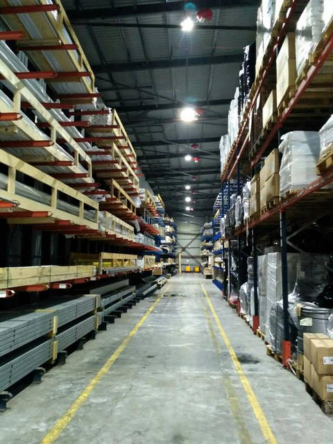 Модернізація освітлення складського приміщення компанії Rehau 3