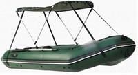 Тент солнцезащитный № 1 для лодок от 2,2м до 2,8м баллон 32-34см