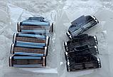 Лезвия для станка Gillette Mach3 Mach 3  Кассета для бритья жилет жилет, фото 7