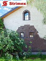 """Навесной Вентилируемый Фасад """"StrimROCK"""" на алюминиевой подсистеме с декоративным камнем Шинон, фото 1"""